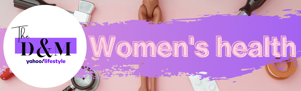 The D&M Yahoo Lifestyle Women's Health banner