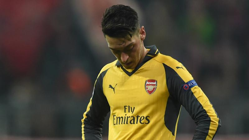 Ozil misses Arsenal's West Brom clash with hamstring injury