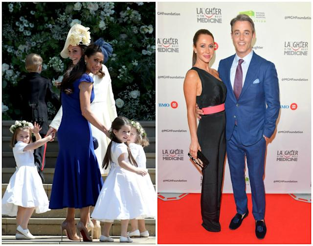 Another couple in the running is Jessica and Ben Mulroney whose kids were involved in their royal bridal party. [Source: Getty]