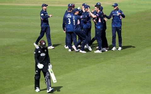 Middlesex beat Surrey by 37 runs - Credit: getty images
