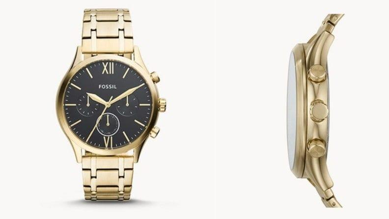 Best Graduation Gifts for Him: Fossil watch