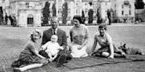 <p>There's a long history behind the British royal family that brought us the longest reigning monarch, Queen Elizabeth II; the beloved Princess Diana; It couple Prince Harry and Meghan, Duchess of Sussex; and the dynasty's newest additions, Prince George, Princess Charlotte, and Prince Louis. Click through to watch the last five generations of the British monarchy unfold in photos.</p>