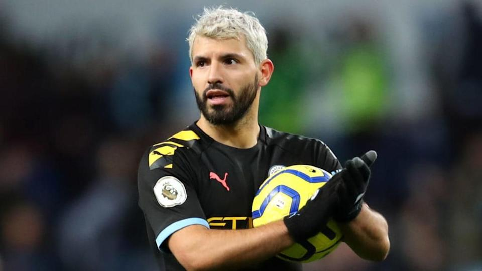 O Chelsea quer manter Agüero na Premier League. | Catherine Ivill/Getty Images