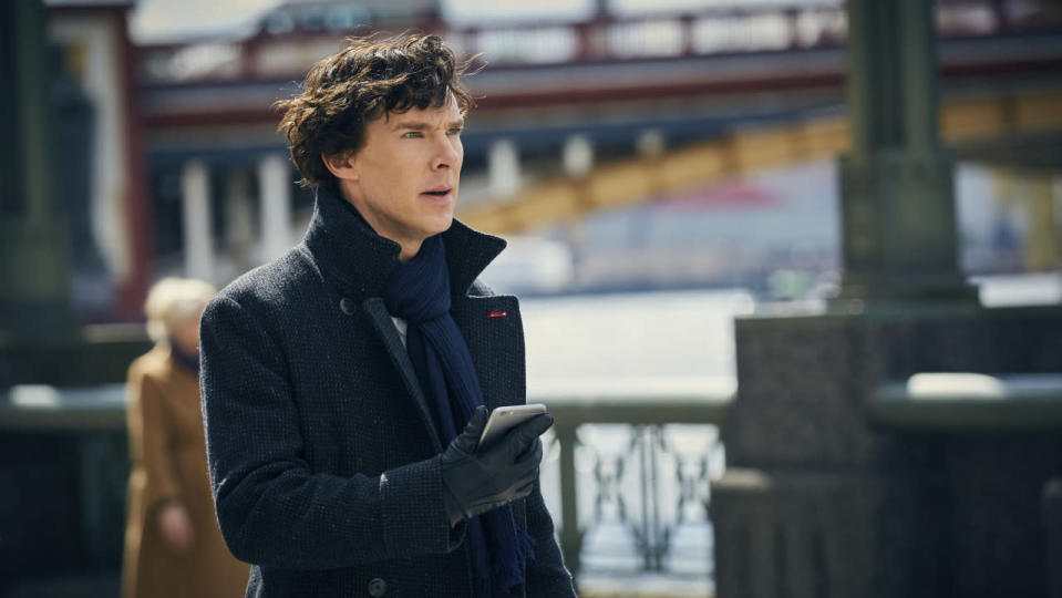 <p> <strong>Non-Netflix show available in UK/US</strong> </p> <p> Sherlock has taken the lead in movies and TV shows plenty of times over the years, becoming a recognisable figure in the realm of detective fiction. When it came to crafting a new series for the BBC showrunners Steven Moffatt and Mark Gatiss gave Doyle&apos;s creation a major facelift. Not just in casting Benedict Cumberbatch &#x2013; an unlikely candidate who totally steals the show &#x2013; as an almost-superhero, but in the lengthy episode format, that gives greater freedom to the exploits of Baker Street&apos;s iconoclastic investigator. </p> <p> Taking the classic Sherlock Holmes and Dr. Watson characters from Arthur Conan Doyle&#x2019;s classic tales and updating them to contemporary London is a masterstroke. Likewise, unshackled from typical modern TV storytelling, the format of Sherlock has each episode running at around 90 minutes.&#xA0; </p>