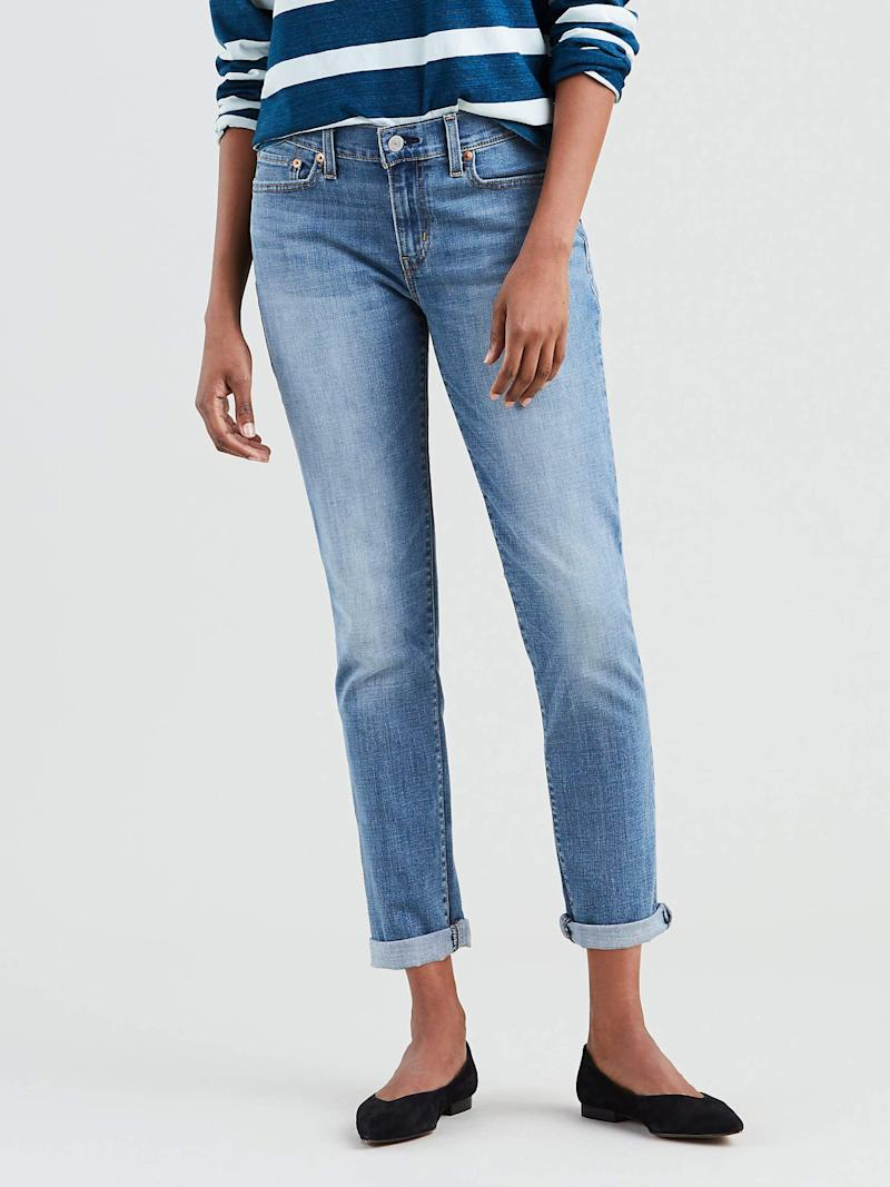 Levi's Women's New Boyfriend Jeans. (Photo: Walmart)