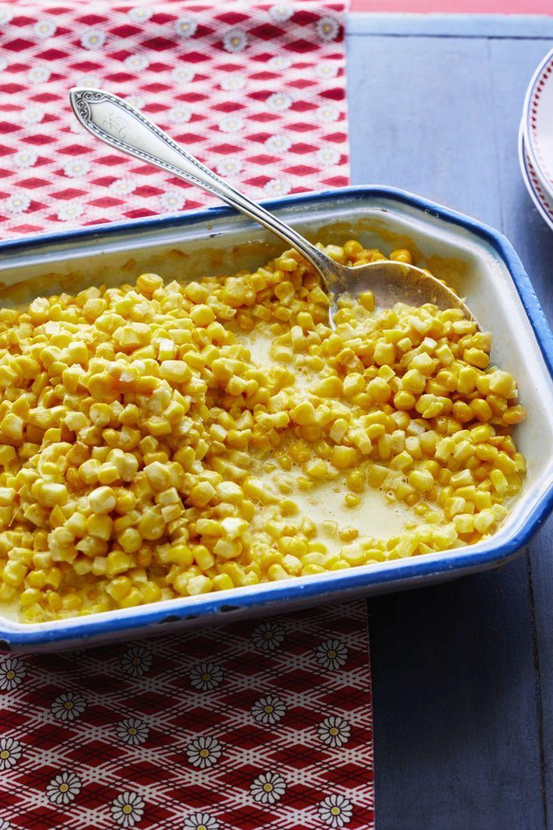 "<p>Corn is underdog of the Thanksgiving meal—delicious, but often overlooked. This casserole will give it the spotlight it deserves!</p><p><strong><a href=""https://www.thepioneerwoman.com/food-cooking/recipes/a32337013/fresh-corn-casserole-recipe/"" rel=""nofollow noopener"" target=""_blank"" data-ylk=""slk:Get the recipe."" class=""link rapid-noclick-resp"">Get the recipe.</a></strong></p><p><strong><a class=""link rapid-noclick-resp"" href=""https://go.redirectingat.com?id=74968X1596630&url=https%3A%2F%2Fwww.walmart.com%2Fbrowse%2Fhome%2Fcooking-utensils%2F4044_623679_133020_4496646_3272847%3Ffacet%3Dbran%253AThe%2BPioneer%2BWoman&sref=https%3A%2F%2Fwww.thepioneerwoman.com%2Ffood-cooking%2Fmeals-menus%2Fg33251890%2Fbest-thanksgiving-sides%2F"" rel=""nofollow noopener"" target=""_blank"" data-ylk=""slk:SHOP SERVING UTENSILS"">SHOP SERVING UTENSILS</a><br></strong></p>"