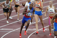 """<p>Biography: Vernon Norwood is 29, Trevor Stewart is 24, Kendall Ellis is 25 and Kaylin Whitney is 23</p> <p>Event: Mixed 4x400 relay (a new event)</p> <p>Quote: Norwood: """"We ended up getting our joy back and we walked away with some hardware.""""</p>"""