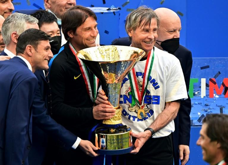 Antonio Conte led Inter Milan to their first Serie A title since 2010.