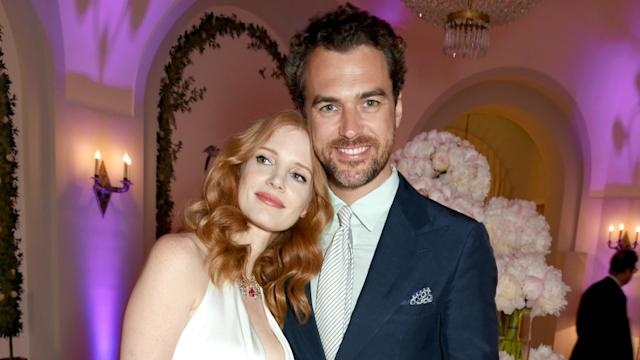 Jessica Chastain Marries Gian Luca Passi de Preposulo in Italian Wedding