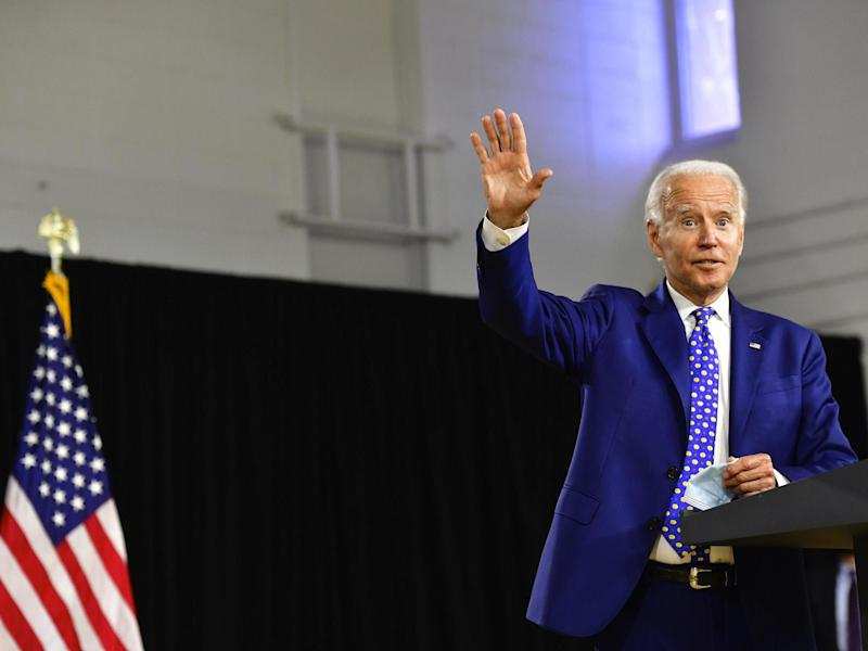 Biden was propelled to victory in the Democratic primaries by strong support from black voters: Getty