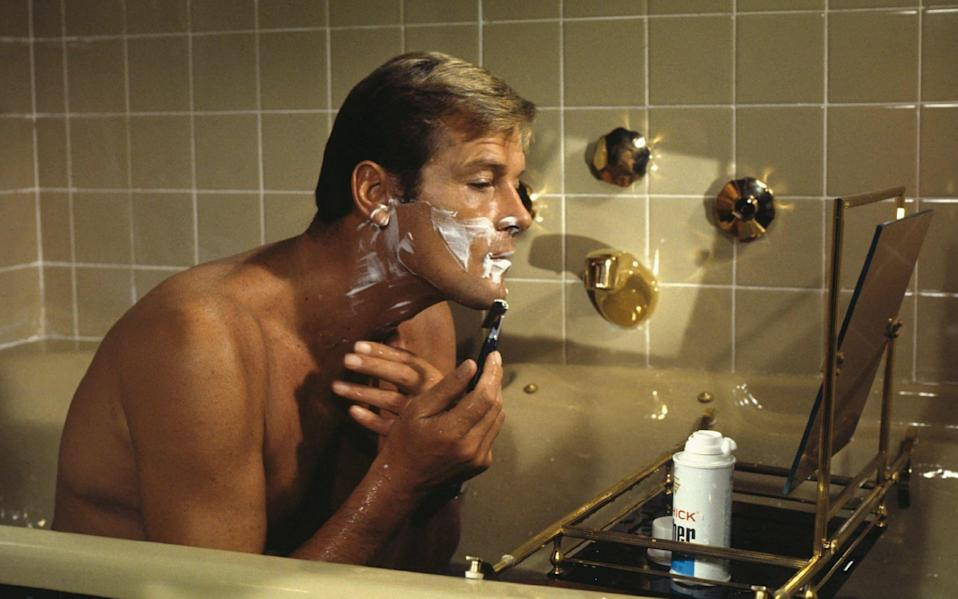 Take a leaf out of Sir Roger Moore's book when it comes to a clean, close shave this winter - Alamy