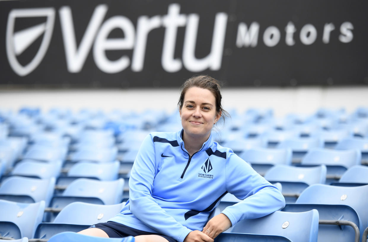 Levick admitted she was emotional on her return at Headingley