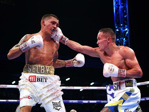 Josh Warrington defeats Lee Selby by unanimous decision in May 2018 (Getty)
