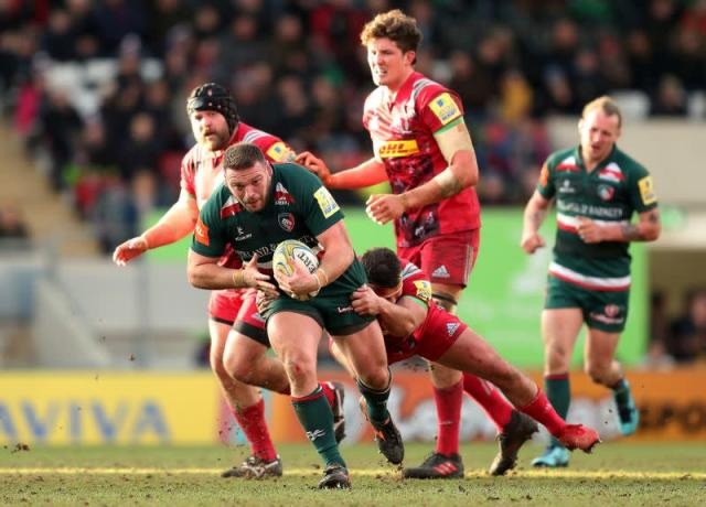 FILE PHOTO: Premiership - Leicester Tigers vs Harlequins