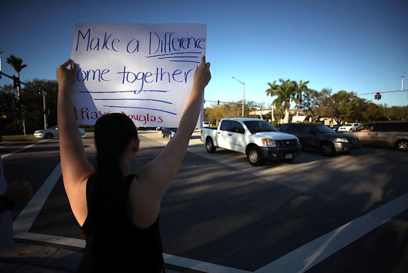 Florida teens staged a walkout to protest gun violence in solidarity with their peers, and these future voters are going to change the world