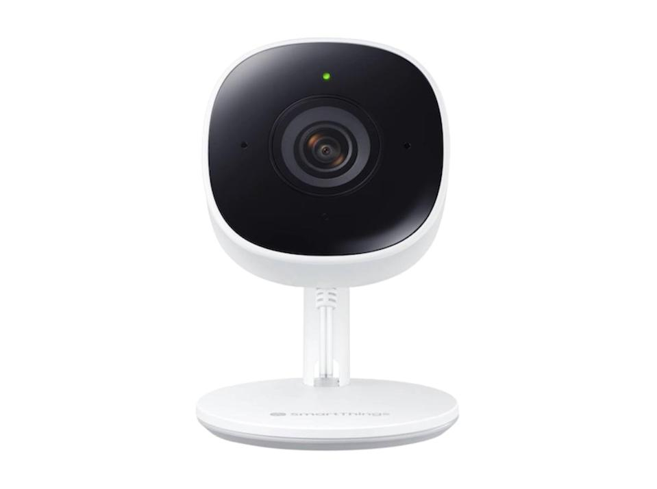 <p>If you're thinking of investing in a smart home security system, start with the <span> Samsung SmartThings Cam </span> ($90). The smart device can always be viewed from your phone and you can view up to four cameras at once.</p>