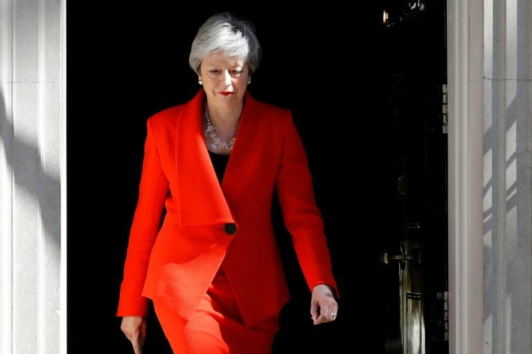 Theresa May, le dernier jour — Royaume-Uni