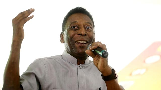 Pele explained his withdrawal from a scheduled trip to the UK was down to an issue that arose from hip surgery.