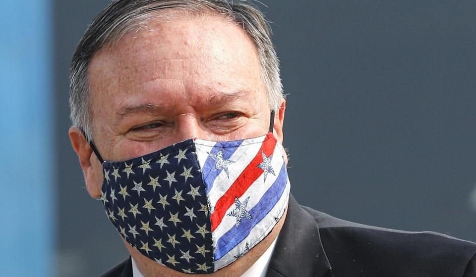 US Secretary of State Mike Pompeo described the Chinese Communist Party as a predator. Photo: AP