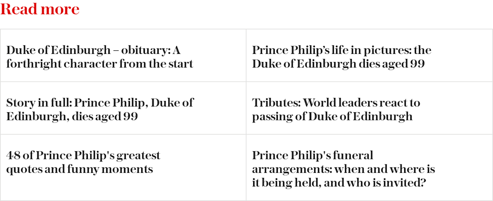 Prince Philip top stories read more