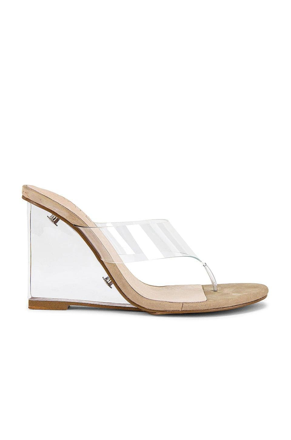 <p>This <span>Raye Dotti Heel</span> ($158) is super comfortable. The thong-sandal look is back, and we're so into it.</p>