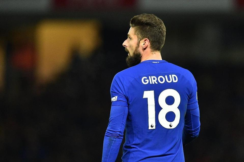 Olivier Giroud moved from Arsenal to Chelsea in January