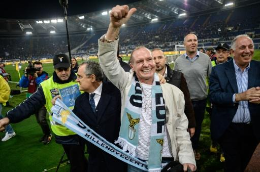 Gascoigne played for Lazio earlier in his career