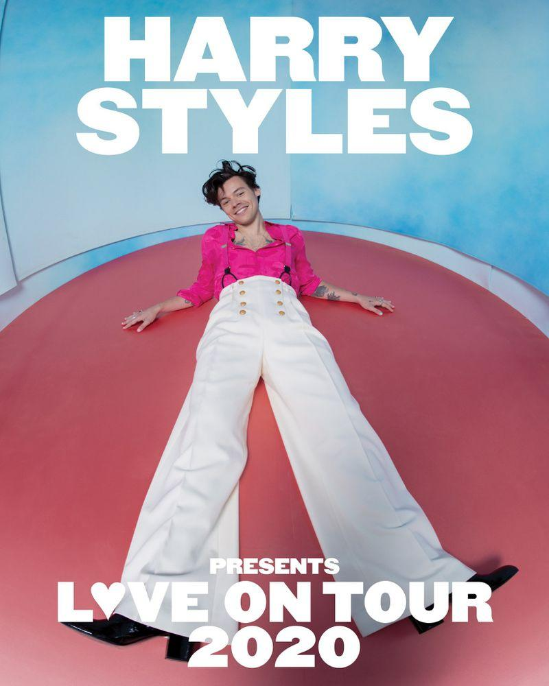 Harry Styles tour poster | Columbia Records