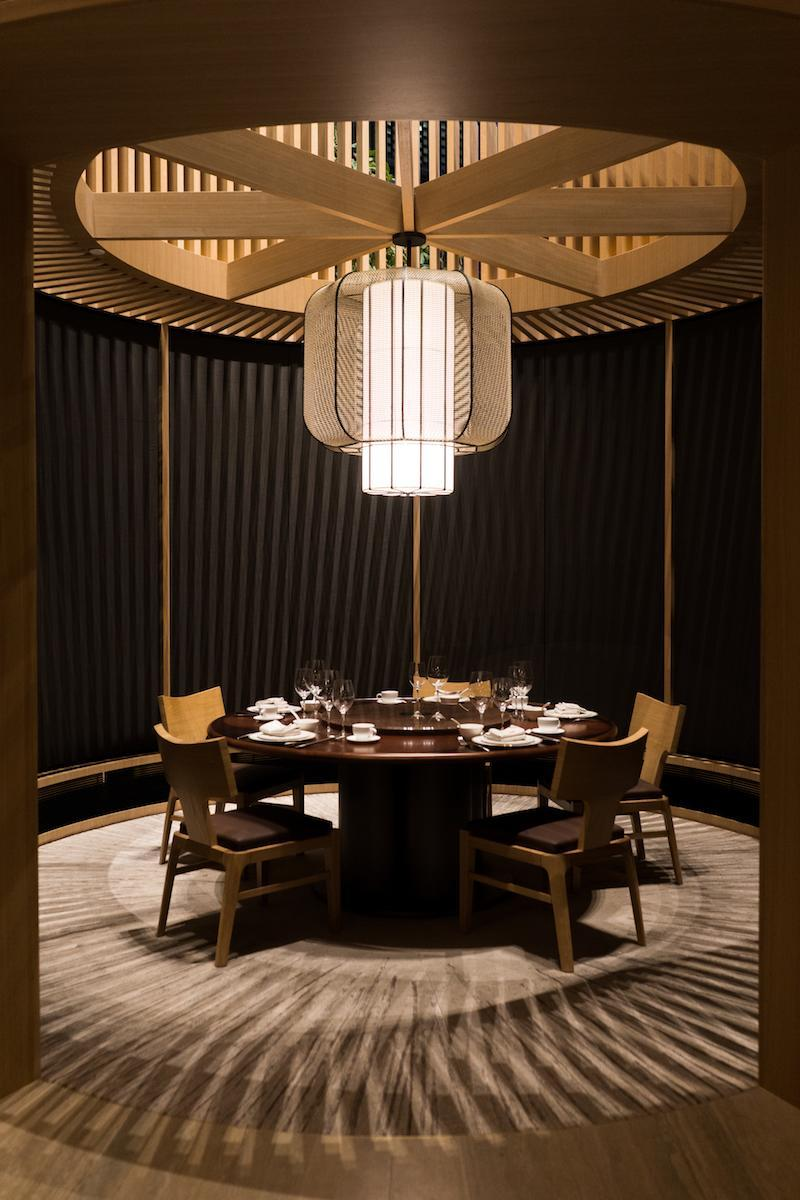 The private dining room. Photo: Blossom