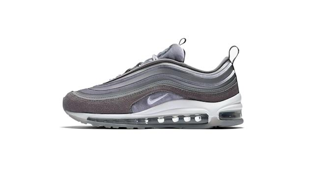 "<p>Air Max 97 Ultra '17 LX, $170, <a href=""https://www.nike.com/t/air-max-97-ultra-17-lx-womens-shoe-XT0Jcj"" rel=""nofollow noopener"" target=""_blank"" data-ylk=""slk:nike.com"" class=""link rapid-noclick-resp"">nike.com</a> </p>"