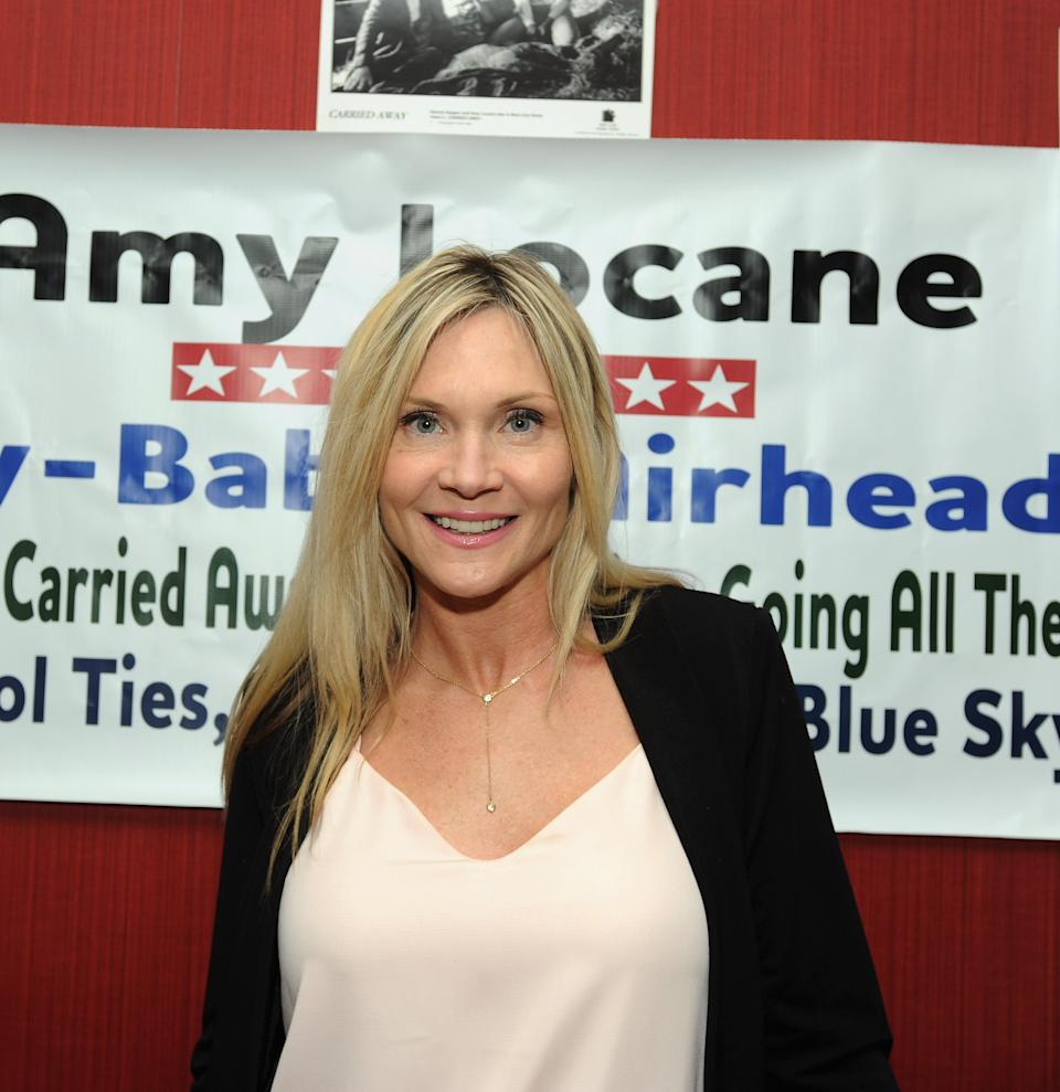 Melrose Place actress Amy Locane has gone to prison again for fatal car crash in 2010.