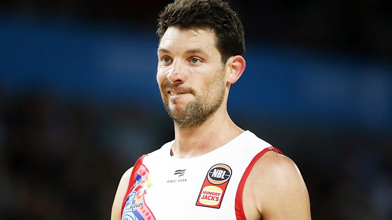 Kevin White, pictured here in action for Adelaide 36ers.