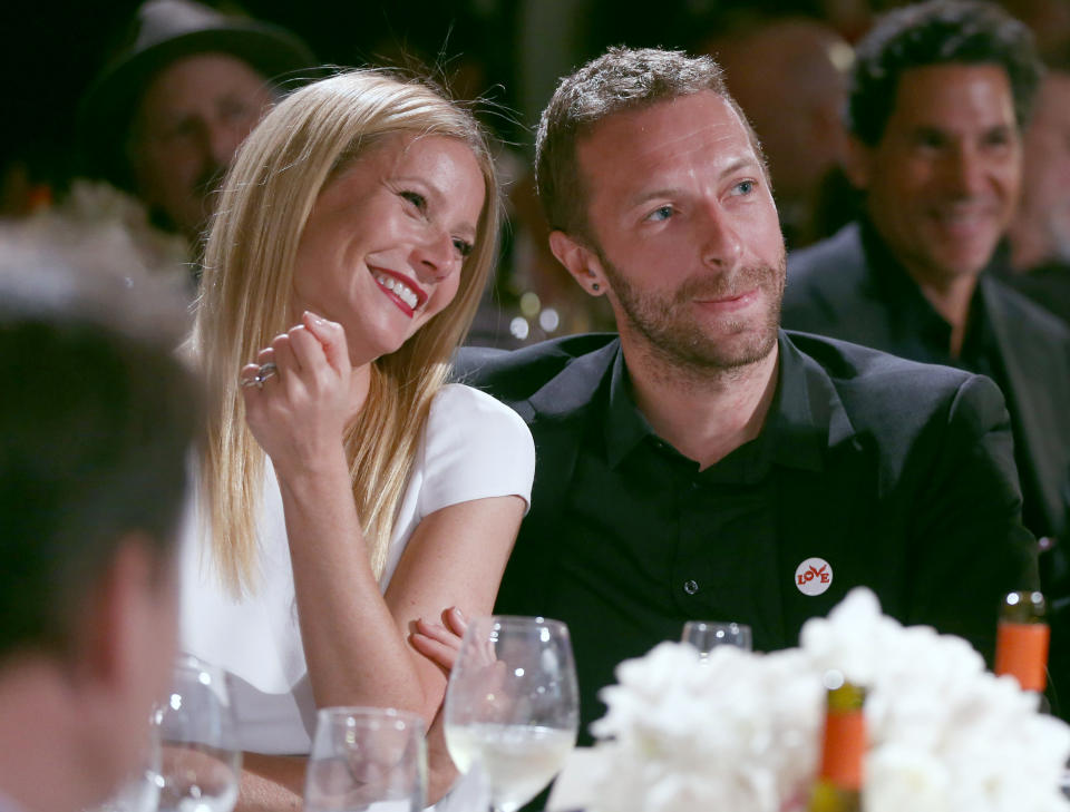 Gwyneth Paltrow and Chris Martin split in 2014. (Photo by Colin Young-Wolff /Invision/AP)