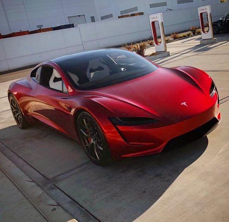 Elon Musk Says Tesla Roadster May Have A Spacex Package