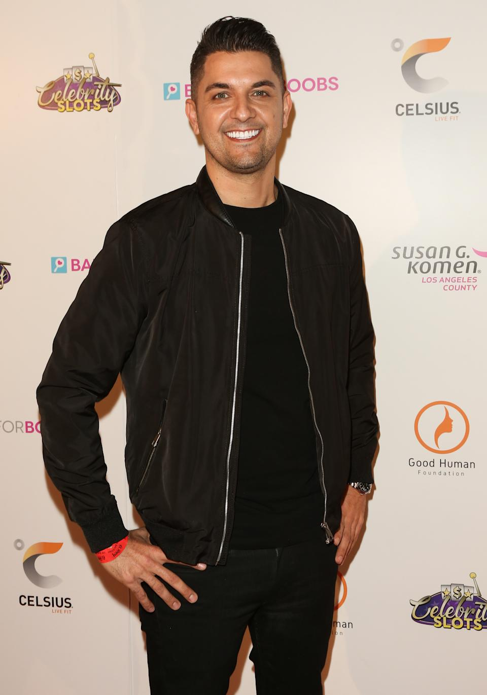 Reality TV Personality Nema Vand attends the 5th Annual Babes For Boobs live bachelor auction benefiting Susan G. Komen LA County at El Rey Theatre on December 05, 2019 in Los Angeles, California.