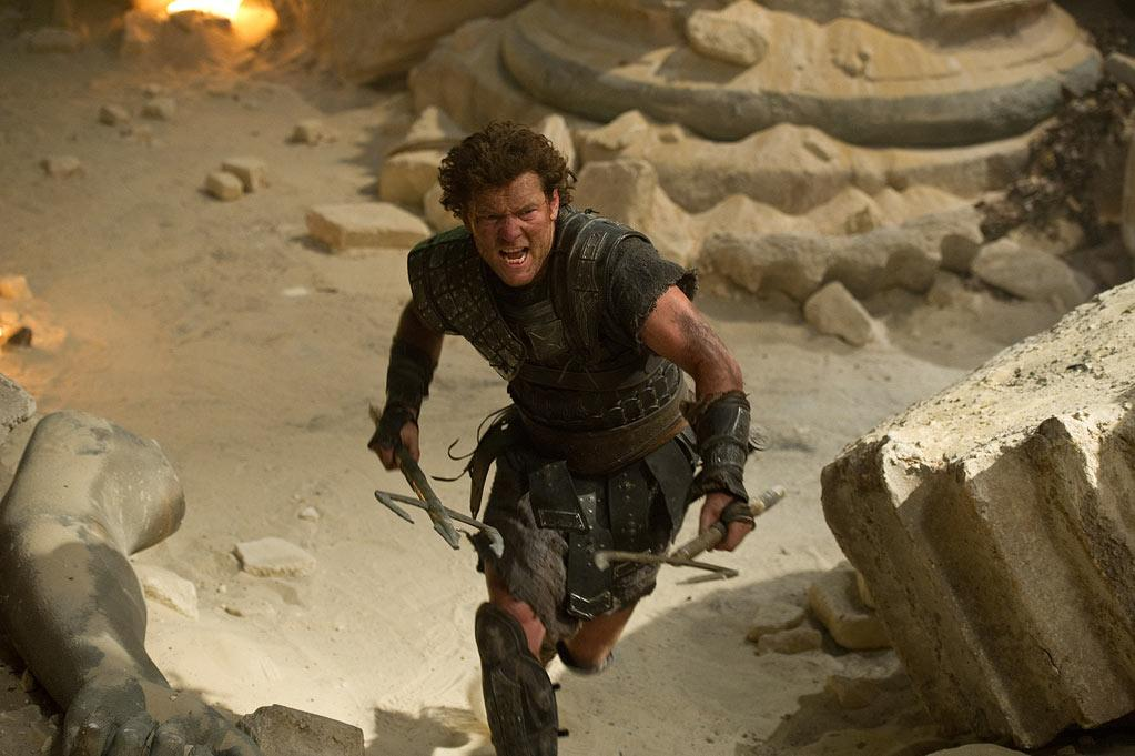 """<a href=""""http://movies.yahoo.com/movie/contributor/1800424136"""">Sam Worthington</a> in Warner Bros. Pictures' <a href=""""http://movies.yahoo.com/movie/1810133590/info"""">Wrath of the Titans</a> - 2012"""