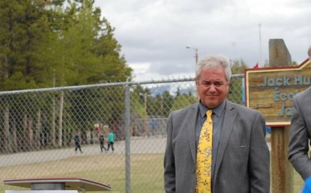 Whitehorse Mayor Dan Curtis brought up a traumatic memory from childhood during the news conference.