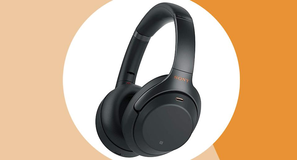 We've found a top-rated pair of wireless noise cancelling headphones on sale. (Amazon/ Yahoo Style UK)