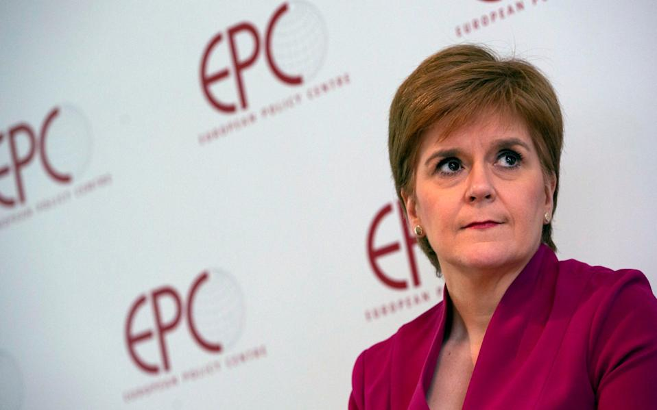 Nicola Sturgeon will appear next week - Virginia Mayo/AP
