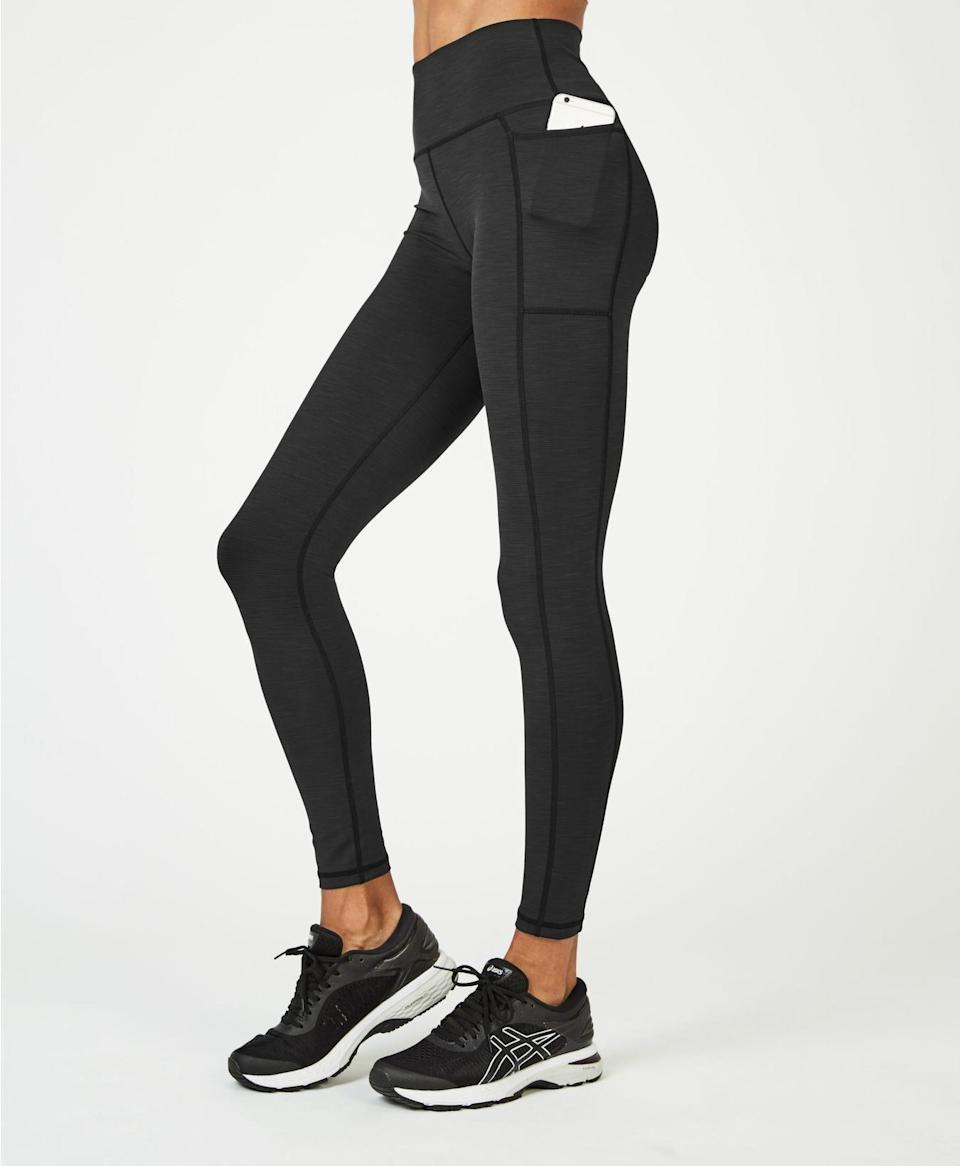"""<p><strong>Sweaty Betty </strong></p><p>sweatybetty.com</p><p><strong>$85.00</strong></p><p><a href=""""https://go.redirectingat.com?id=74968X1596630&url=https%3A%2F%2Fwww.sweatybetty.com%2Fus%2Fshop%2Fedits%2Fsuper-sculpt-leggings%2Fsuper-sculpt-high-waisted-yoga-leggings-SB5071A_BlackMarl.html&sref=https%3A%2F%2Fwww.harpersbazaar.com%2Ffashion%2Ftrends%2Fg5680%2Fnew-activewear-workout-brands%2F"""" rel=""""nofollow noopener"""" target=""""_blank"""" data-ylk=""""slk:Shop Now"""" class=""""link rapid-noclick-resp"""">Shop Now</a></p><p>Three words: bum-sculpting leggings. The London-based brand has mastered the art of lifting and sculpting leggings that flatter every figure. From classic black to colorful prints and mesh cutouts, you'll want to wear these leggings well beyond your workout. </p>"""