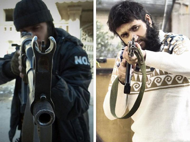 Mohammed Nahin Ahmed and Yusuf Zubair Sarwar have been jailed for 12 years for fighting in Syria (PA)