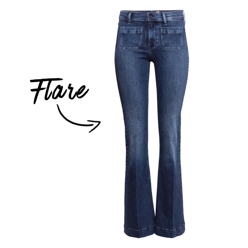 the most flattering jeans for your body type