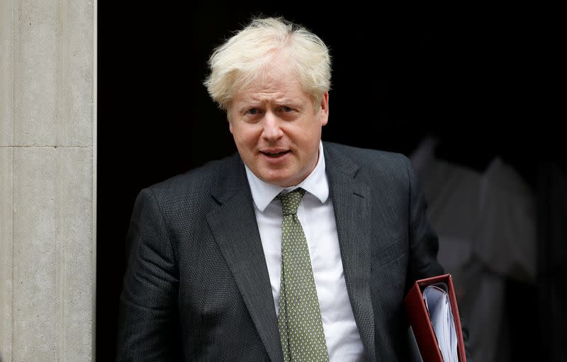 Johnson should rip up Brexit divorce deal, think-tank says