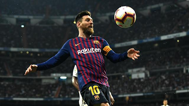 Barcelona boss Ernesto Valverde insisted Lionel Messi did not suffer an injury as his side made Clasico history against Real Madrid.