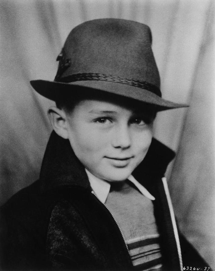 """<p>Even as a toddler, Dean exuded a cool-guy attitude. The actor skyrocketed to fame with his breakout roles in <em>East of Eden</em> and <em>Rebel Without a Cause </em>in 1955<em>.</em> However, the actor didn't get to enjoy the success for long as he died tragically in a car accident later that same year.</p><p><strong>RELATED: <a href=""""https://www.esquire.com/entertainment/movies/g2494/rare-james-dean-photos/"""" rel=""""nofollow noopener"""" target=""""_blank"""" data-ylk=""""slk:James Dean's Life in Photos"""" class=""""link rapid-noclick-resp"""">James Dean's Life in Photos</a></strong></p>"""