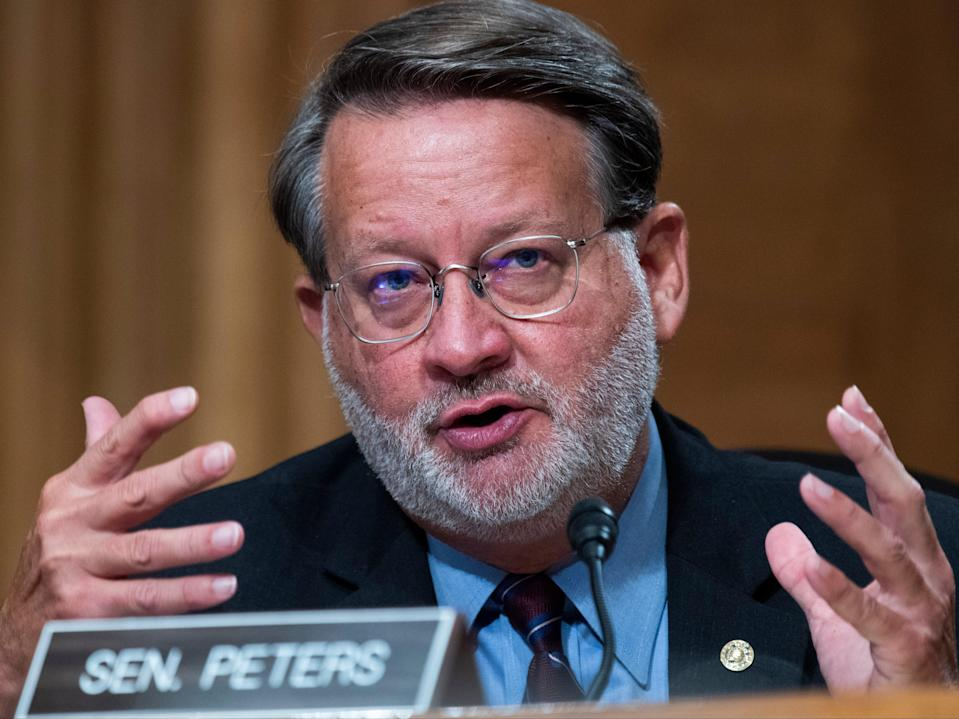 """Senator Gary Peters has shared his family's experience with abortion amid what he says is """"a pivotal moment for reproductive freedom"""" in the US. (Getty Images)"""