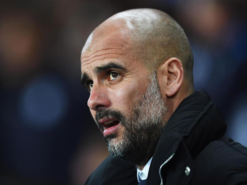 Guardiola was delighted with the performance (Getty)