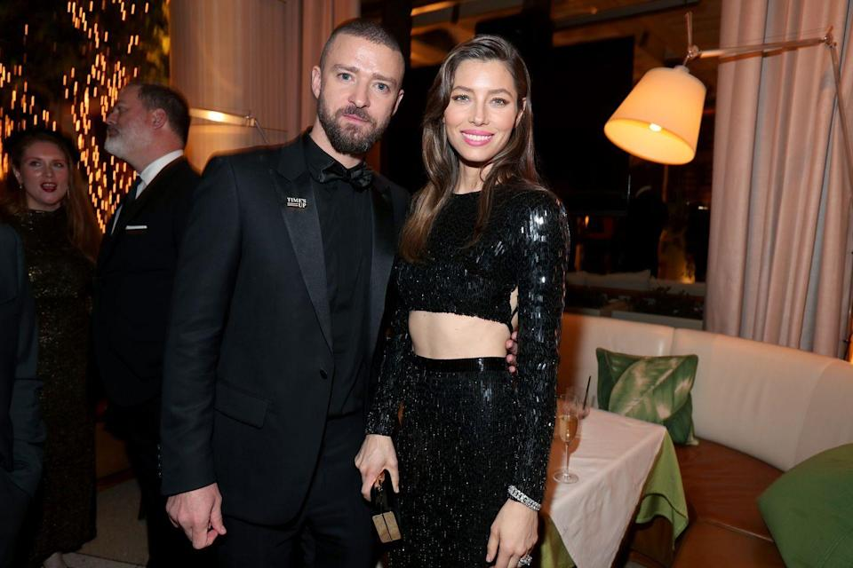 "<p>J & J had a mutual friend that made the intro which led to their love. The pair met in 2007, both fresh out of other relationships (Biel with Chris Evans and Timberlake with Cameron Diaz) and not looking for anything serious. </p><p>""There was nothing starry about the way we got together,"" <a href=""https://www.usmagazine.com/celebrity-news/news/justin-timberlake-talks-about-marriage-making-jessica-biel-happy-2012410/"" rel=""nofollow noopener"" target=""_blank"" data-ylk=""slk:shared Timberlake"" class=""link rapid-noclick-resp"">shared Timberlake</a>. ""It was very un-Hollywood-esque, in fact. We met and got talking. Afterwards I asked my friend if I could call her and ask her out. My friend called Jessica and Jessica said yes, and so I called her. I did it the old fashioned way—by telephone.""</p>"