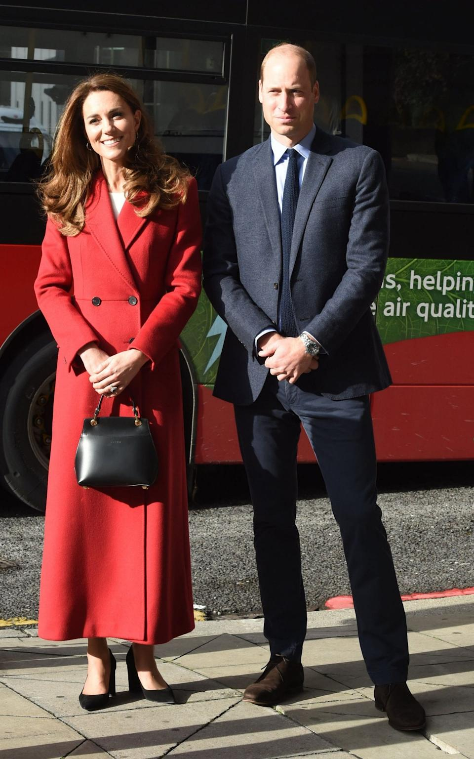 Kate and William at Waterloo - AFP