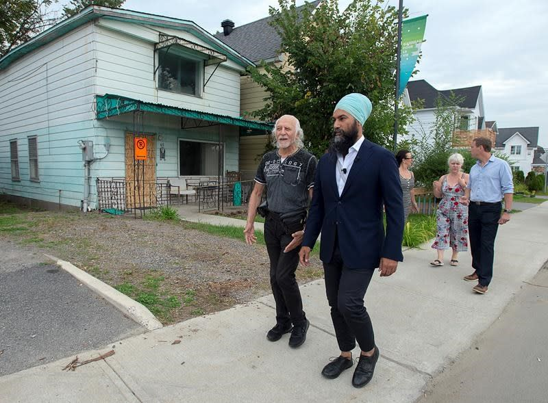 NDP pledges more money to prevent disastrous effects of climate change